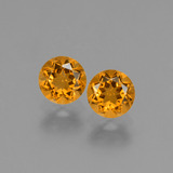 thumb image of 0.9ct Round Facet Yellow Golden Citrine (ID: 428871)