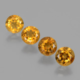 thumb image of 1.9ct Round Facet Yellow Golden Citrine (ID: 428905)