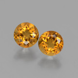 thumb image of 1ct Round Facet Yellow Golden Citrine (ID: 428943)