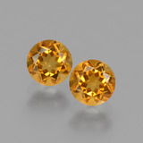 thumb image of 0.9ct Round Facet Yellow Golden Citrine (ID: 428947)