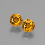 thumb image of 0.9ct Round Facet Yellow Golden Citrine (ID: 428990)