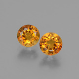 thumb image of 0.9ct Round Facet Yellow Golden Citrine (ID: 428993)