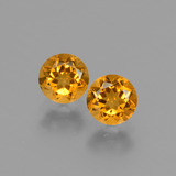 thumb image of 0.9ct Round Facet Yellow Golden Citrine (ID: 428995)