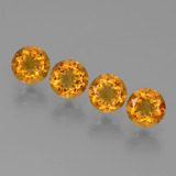 thumb image of 1.8ct Round Facet Yellow Golden Citrine (ID: 429042)