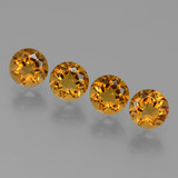 thumb image of 1.9ct Round Facet Yellow Golden Citrine (ID: 429043)