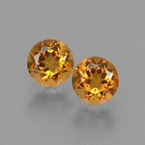 thumb image of 1ct Round Facet Yellow Golden Citrine (ID: 429072)