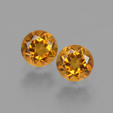 thumb image of 1ct Round Facet Yellow Golden Citrine (ID: 429073)