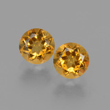 thumb image of 1ct Round Facet Yellow Golden Citrine (ID: 429074)