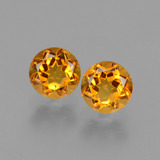 thumb image of 1ct Round Facet Yellow Golden Citrine (ID: 429077)