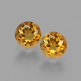thumb image of 1ct Round Facet Yellow Golden Citrine (ID: 429078)
