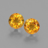 thumb image of 0.9ct Round Facet Yellow Golden Citrine (ID: 429083)
