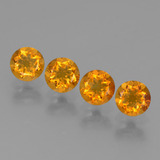 thumb image of 1.8ct Round Facet Yellow Golden Citrine (ID: 429124)