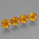 thumb image of 1.8ct Round Facet Yellow Golden Citrine (ID: 429125)