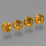 thumb image of 1.9ct Round Facet Yellow Golden Citrine (ID: 429127)