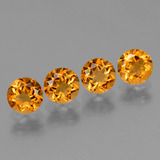 thumb image of 1.9ct Round Facet Yellow Golden Citrine (ID: 429131)