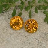 thumb image of 0.9ct Round Facet Yellow Golden Citrine (ID: 429172)