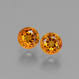 thumb image of 1ct Round Facet Yellow Golden Citrine (ID: 429194)