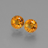 thumb image of 1ct Round Facet Yellow Golden Citrine (ID: 429196)