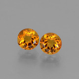 thumb image of 0.9ct Round Facet Yellow Golden Citrine (ID: 429201)