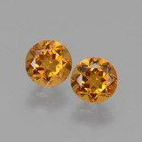 thumb image of 1ct Round Facet Yellow Golden Citrine (ID: 429277)