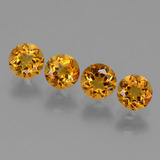 thumb image of 1.9ct Round Facet Yellow Golden Citrine (ID: 429359)