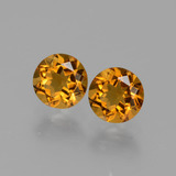 thumb image of 0.9ct Round Facet Yellow Golden Citrine (ID: 429400)