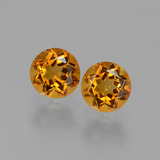 thumb image of 1ct Round Facet Yellow Golden Citrine (ID: 429405)