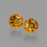 thumb image of 0.9ct Round Facet Yellow Golden Citrine (ID: 429439)