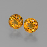 thumb image of 0.9ct Round Facet Yellow Golden Citrine (ID: 429442)