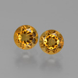 thumb image of 1ct Round Facet Yellow Golden Citrine (ID: 429443)