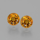 thumb image of 1ct Round Facet Yellow Golden Citrine (ID: 429505)