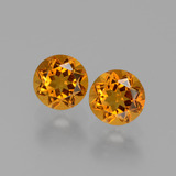 thumb image of 1ct Round Facet Yellow Golden Citrine (ID: 429506)