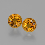 thumb image of 1ct Round Facet Yellow Golden Citrine (ID: 429508)