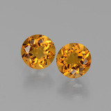 thumb image of 0.9ct Round Facet Yellow Golden Citrine (ID: 429511)