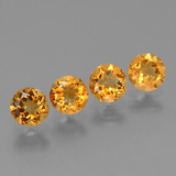 thumb image of 1.8ct Round Facet Yellow Golden Citrine (ID: 429567)