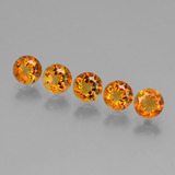 thumb image of 2.4ct Round Facet Yellow Golden Citrine (ID: 429592)