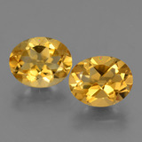 thumb image of 4.6ct Oval Facet Yellow Golden Citrine (ID: 433561)