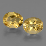 thumb image of 4.8ct Oval facettiert Yellow Golden Citrin (ID: 433562)