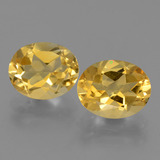 thumb image of 4.9ct Oval Facet Yellow Golden Citrine (ID: 433565)