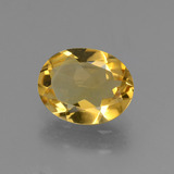 thumb image of 1.8ct Oval Facet Yellow Golden Citrine (ID: 433591)