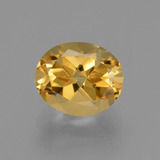 thumb image of 2.7ct Oval Facet Yellow Golden Citrine (ID: 433592)
