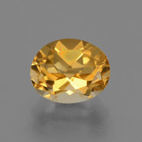 thumb image of 2.7ct Oval Facet Yellow Golden Citrine (ID: 433597)