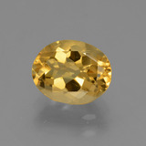 thumb image of 2.4ct Oval Facet Yellow Golden Citrine (ID: 433598)