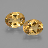 thumb image of 4.6ct Oval Facet Yellow Golden Citrine (ID: 433675)