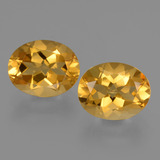 thumb image of 4.9ct Oval Facet Yellow Golden Citrine (ID: 433699)