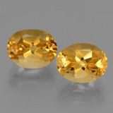 thumb image of 5ct Oval Facet Yellow Golden Citrine (ID: 433744)