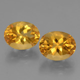 thumb image of 5.3ct Oval Facet Yellow Golden Citrine (ID: 433865)