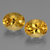thumb image of 5.4ct Oval Facet Yellow Golden Citrine (ID: 433866)