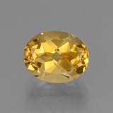 thumb image of 3.1ct Oval Facet Yellow Golden Citrine (ID: 433892)