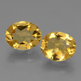 thumb image of 4.2ct Oval Facet Yellow Golden Citrine (ID: 433903)